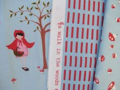 Loooove Aneela Hoey's new line! Foxes, mushrooms, birdies, dots, and stripes = perfection.  Not out til March? Sad face.
