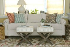 The Chronicles of Home: DIY Sofa Reupholstery | Sources and Tips