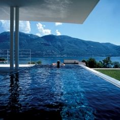 Swiss architect, Stefano Foni Gueli and Fausto, built a villa on Lake Maggiore.