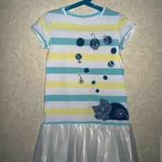 Купить Туника Кошки мышки - туника, туника для девочки, детская туника, одежда для девочек