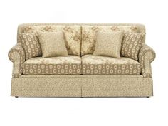 Craftmaster Living Room Two Cushion Sofa 982950 - CraftMaster - Hiddenite, NC