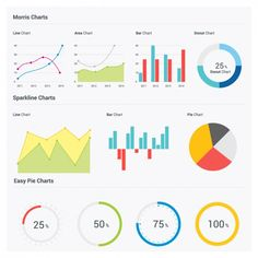 Statistic Infographics Free Vector