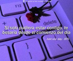 Funny Spanish Memes, Spanish Quotes, Love Phrases, Love Words, Love Memes, Love Quotes, Frases Bts, Tumblr Love, Bts Lyric