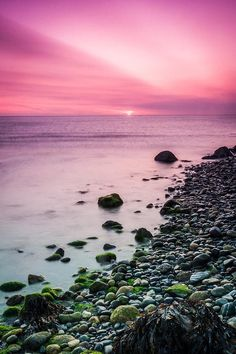 ✯ Beautiful Sunrise At Bray, Ireland