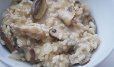 Recept: Paddenstoelenrisotto