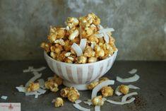 La recette du popcorn à la noix de coco