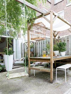 Best home diy projects outdoor back yard ideas Outside Living, Outdoor Living, Back Gardens, Outdoor Gardens, Dream Garden, Home And Garden, Garden Design Plans, Garden Yard Ideas, Garden Landscaping
