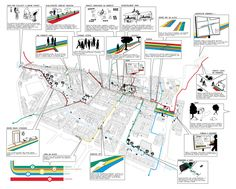 Podmokly #line #spells #city #intervention Map, City, Projects, Design, Atelier, Cards, Design Comics, Maps