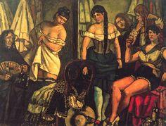José Gutiérrez Solana - Las chicas de la Claudia (1929)
