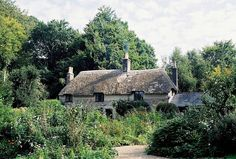 Hardy's cottage in Dorset, England