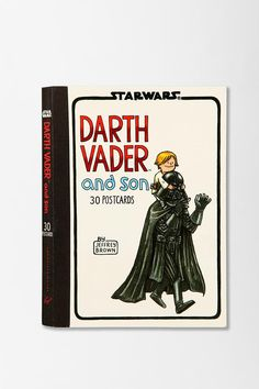 Darth Vader And Son Postcard Book #urbanoutfitters