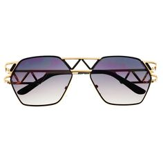 Unique Designer Celebrity Fashion Metal Sunglasses Shades A1340