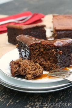 Sticky Toffee Pudding {#SundaySupper: Sauce It Up}   www.girlichef.com