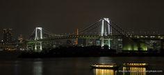 Tokyo Bay and Rainbow Bridge- Tokyo, Japan