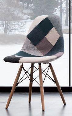 chaise en patchwork sur pinterest chaises sofa en patchwork et rembourrage. Black Bedroom Furniture Sets. Home Design Ideas