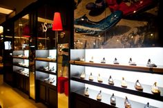 Retail Shoe Display Ideas | YOSI SAMRA kiosks design by Nina M. Santamaria, Philippines store ...