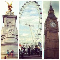 London Eye, Big Ben y nose que es lo otro :(.