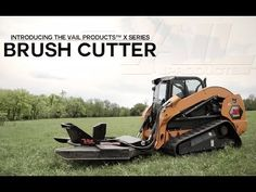With one of the widest cutting swaths on the market, the Vail X Series Brush Cutter was built strong to handle all conditions and terrains. Cut, clear, mow a. Grass Cutter, Brush Cut, Project Yourself, Get The Job, Swatch, How To Remove, Management, Handle, Tools
