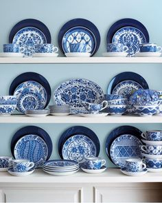 Dining in Blue » Blog Archive » DesignStyle