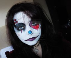 WGW Clown Make Up by FinstereFrau.deviantart.com on @deviantART