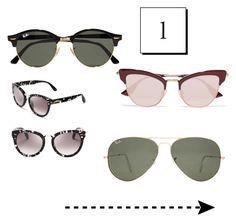 """""""нос"""" by on-style on Polyvore featuring мода, Ray-Ban, TOMS и Le Specs"""