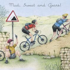 Cards » Mud Sweat and Gears » Mud Sweat and Gears - Berni Parker Designs
