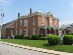 Immaculate Conception Rectory at Botkins in Shelby County, Ohio.