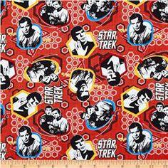 Star Trek Crew Red