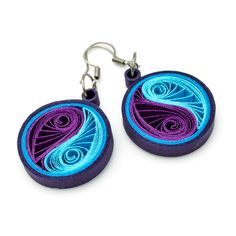▷ ingenious ideas for manufacturing - Quilling Paper Crafts Paper Quilling Earrings, Paper Quilling Cards, Paper Quilling Patterns, Quilled Paper Art, Quilling Paper Craft, Quilling Ideas, Paper Quilling For Beginners, Quilling Techniques, Paper Jewelry