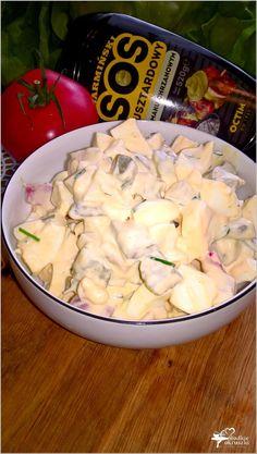 Wyrazista w smaku sałatka z sosem musztardowo-chrzanowym (2) Polish Recipes, Polish Food, Potato Salad, Ale, Grilling, Lunch Box, Menu, Potatoes, Favorite Recipes