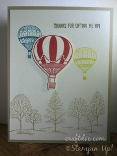 Stampin Up!, Lift Me Up,  Lovely As A Tree
