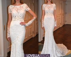 Berta Bridal 2015 Fall/Winter Collection #longsleeve #sophisticated