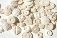 Edible Vintage Candy Buttons 50 by by andiespecialtysweets