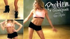♕ A dance tutorial to Problem by Ariana Grande!! SOOO FUN, even if its not the whole song!