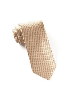 OVATION SOLID TIES - LIGHT CHAMPAGNE | Ties, Bow Ties, and Pocket Squares | The Tie Bar