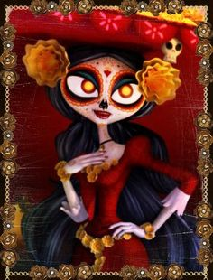 la muerte the book of life | Tumblr