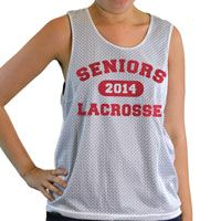 Our 100% polyester mesh lacrosse pinnies are a top choice for comfort and performance. This reversible pinnie is moisture wicking and and anti-microbial, keeping you dry, odor free, and comfortable.