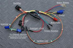 Many older models have zero wiring support. Even manufacturers that are still in business sometimes refuse to produce wiring harnesses for discontinued models. Use this guide to DIY retrofit your machine with a quality 90cc Atv, Chinese Motorcycles, Motorcycle Wiring, Chinese Scooters, Honda Cb400, Mini Chopper, Gas Scooter, Electrical Wiring Diagram, Crossfire