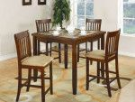 Normandie Cherry Counter Height Dining Table Set 150154