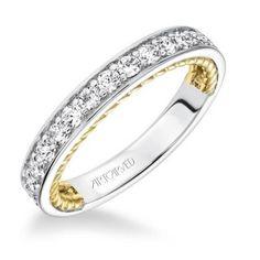 Kenzie ArtCarved Diamond Wedding Ring