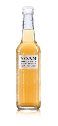 Noam | Brand Identity Beer Bottle & Box Packaging Design Inspiration | Award-winning Packaging Design | D&AD