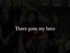 """Foo Fighters- My Hero With Lyrics (Love this song. lets see if you can guess the moview with this line """"HOOK & LATTER"""" Love that movie also"""""""