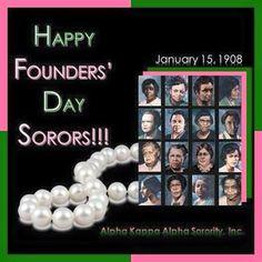Happy Founder's Day Alpha Kappa Alpha Founders, Kappa Alpha Psi Fraternity, Alpha Kappa Alpha Sorority, Delta Sigma Theta, Aka Sorority Gifts, Sorority Rush, Sorority Life, Aka Founders, Happy Founders Day