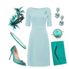 """""""Service of Commemoration"""" by nmccullough ❤ liked on Polyvore featuring JANE TAYLOR MILLINERY, Sole Society, Manolo Blahnik, Gunne Sax By Jessica McClintock, Monique Péan and Bling Jewelry"""