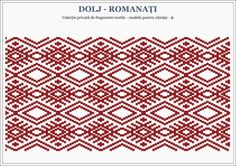 Semne Cusute: Romanian traditional motifs Folk Embroidery, Embroidery Stitches, Embroidery Patterns, Cross Stitch Patterns, Knitting Patterns, Learn Embroidery, Floral Embroidery, Palestinian Embroidery, Crochet Chart