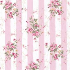 Fabric Rachel Ashwell #pink #shabby #rose