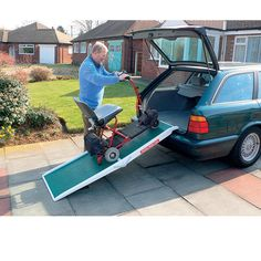 Fibreglass Scooter Ramp | Mobility World