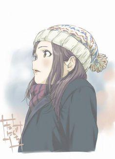 #Dessin #Illustration fille hiver par syaorin_2009