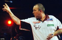 Phil Taylor PT5 Signed A3 Photo with COA