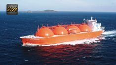 What is Liquefied Natural Gas? (Complete Process) Lion Live Wallpaper, Tanker Ship, Petroleum Engineering, Offshore Boats, Marine Engineering, Merchant Marine, Tug Boats, Construction, Arctic
